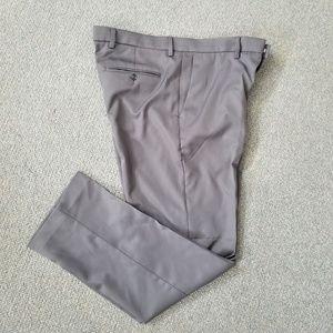 Perry Ellis men's gray dress pants